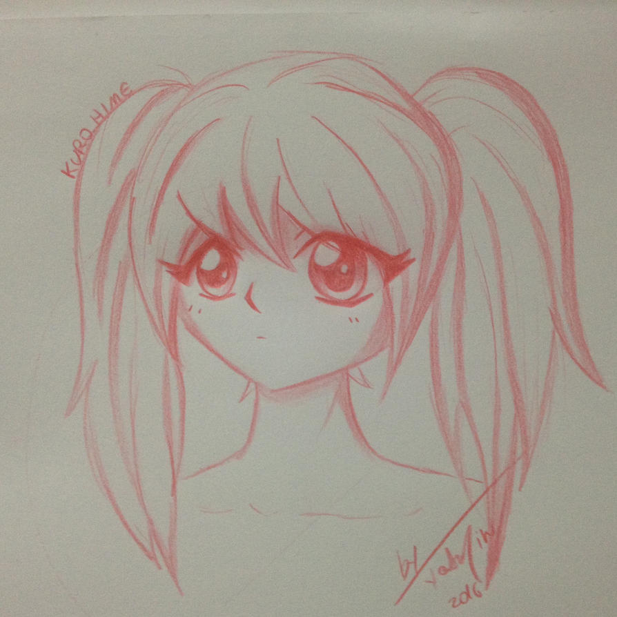 Test with Faber-Castell Art Grip pencil by ByYasmin