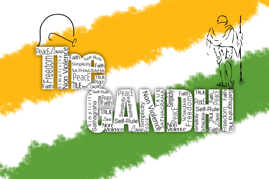 THE M.K. GANDHI by Anudeepgowdas