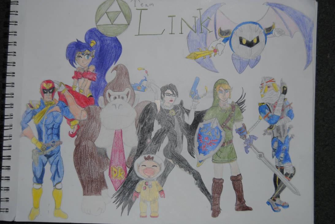 Nintendo Civil War: Team Link (Complete edtition)