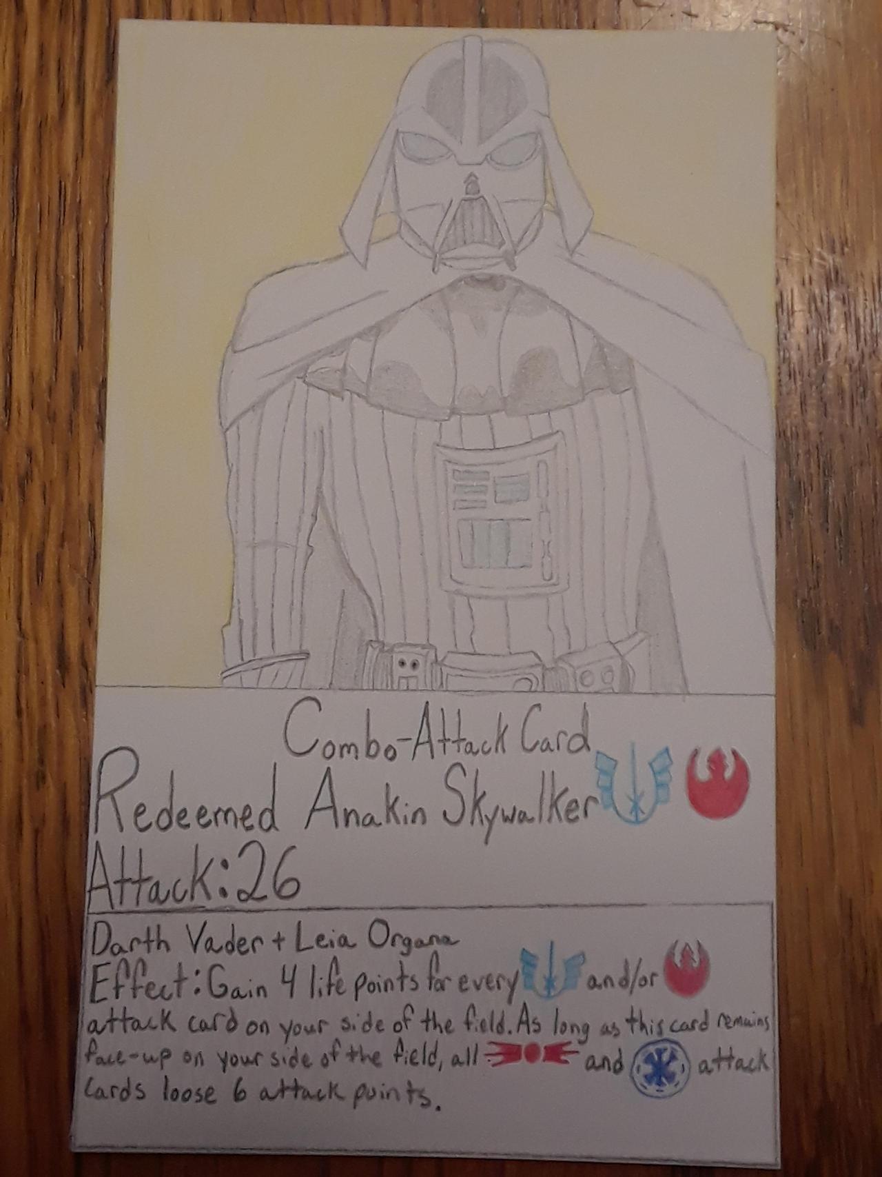 Redeemed Anakin Skywalker Combo-AttackCard(Redone)
