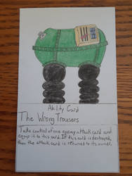 The Wrong Trousers Ability Card (Updated)