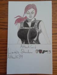 Lara's Shadow Attack Card