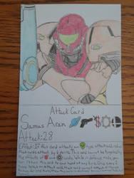 Samus Aran Attack Card