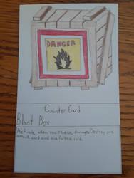 Blast Box Counter Card