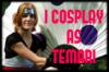 I Cosplay As Temari Stamp by TemariAtaje