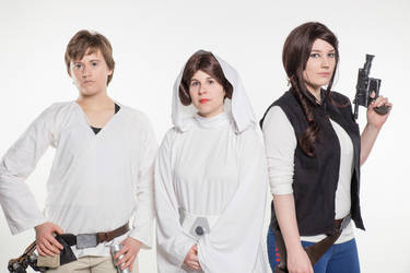 Star Wars - Luke, Leia and Han