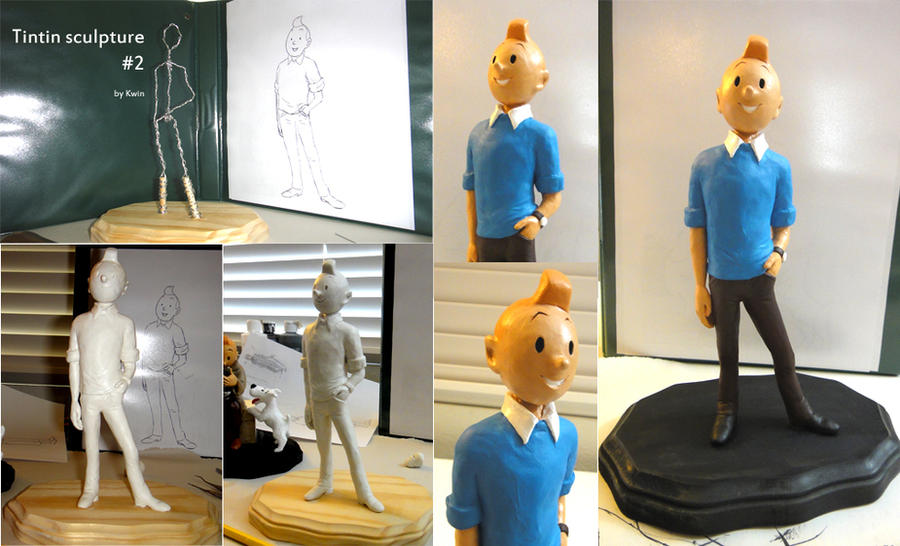 Tintin wears the pants by QGildea