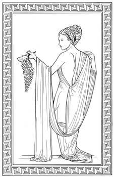 Maenad by Enedlammeniel