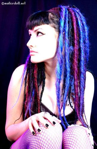 [Galerie photo] Pour trouvez de nouvelles inspirations - Page 5 Blue_dreads
