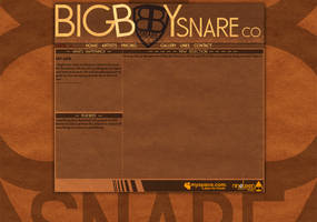 Big Boy Snare Co Website by JamesRuthless