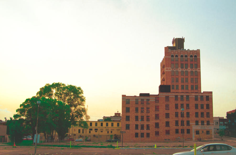 Downtown Pontiac by JamesRuthless