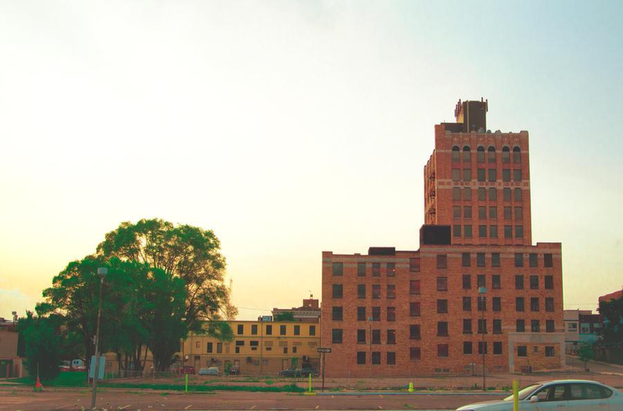Downtown Pontiac by JamesRuthless