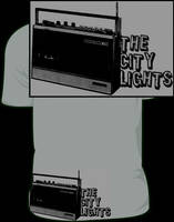 The City Lights Radio Shirt by JamesRuthless