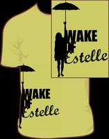 Wake Of Estelle T-Shirt by JamesRuthless