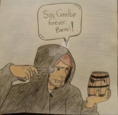 Barrel Death by BrinBryan97