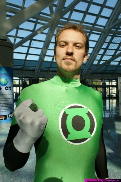 Green Lantern by My2Wings