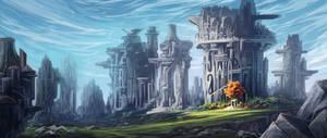 #0043 Concept Art / Advanced Ancient Colosseum
