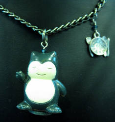 Snorlax Necklace
