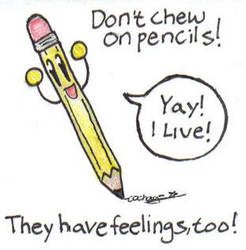 Pencils are my friends by COChaos