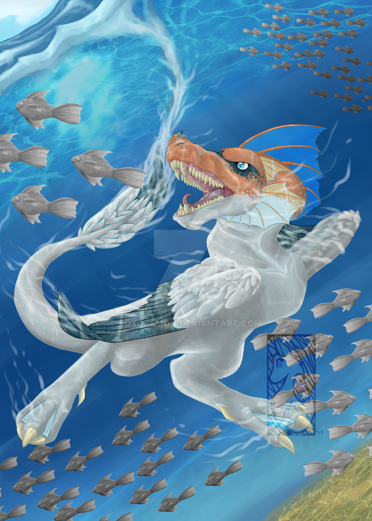 Dive by foxdeamon