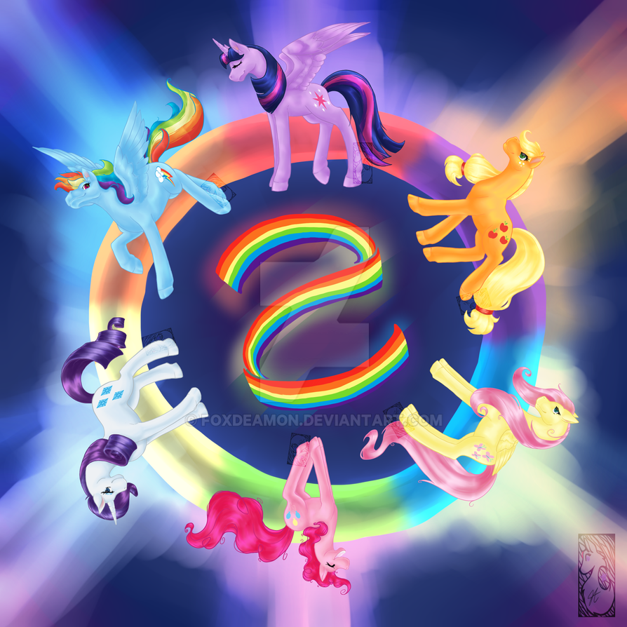 Circle Of Friendship 2015 by foxdeamon