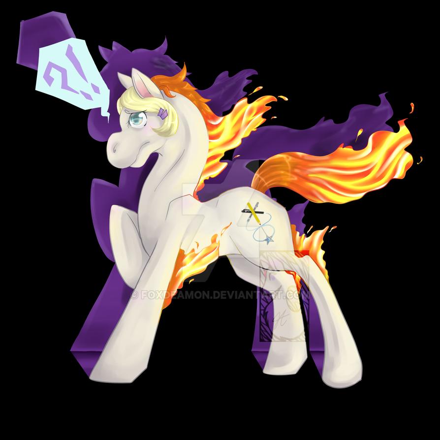 Poke-pony by foxdeamon