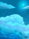 Cloudy sky by Hamshad