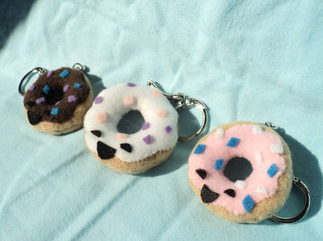 Donut Keychains: All flavors