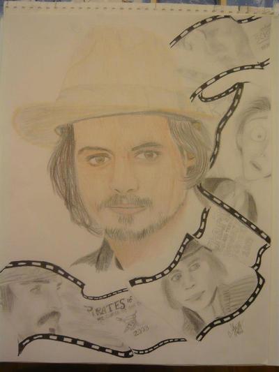 Johnny Depp by Vampcat18