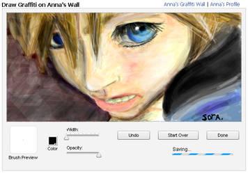 Sora-graffiti wall_facebook by Kule