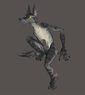 werewolf creature thingy