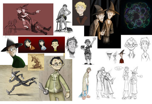 Discworld Sketchdump