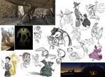 Discworld Sketchdump II