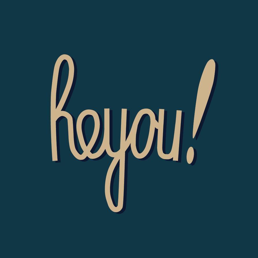 heyou! logo by PixelLeaf