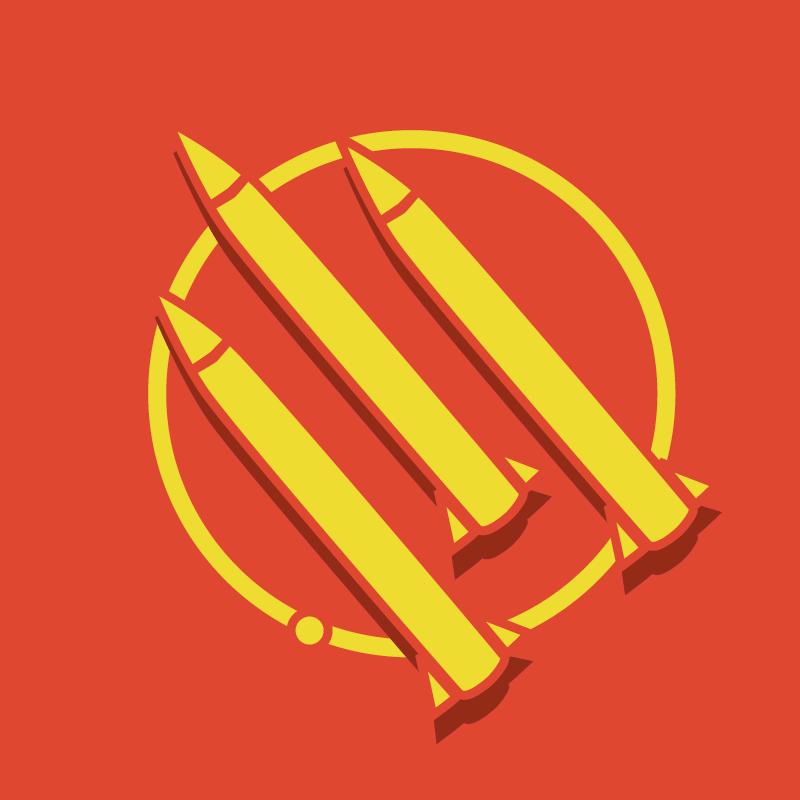 The Golden Rockets logo by PixelLeaf