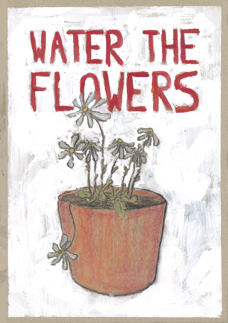 water the flowers by PixelLeaf