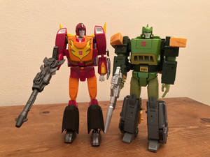 TRANSFORMERS: Rodimus Prime and Springer