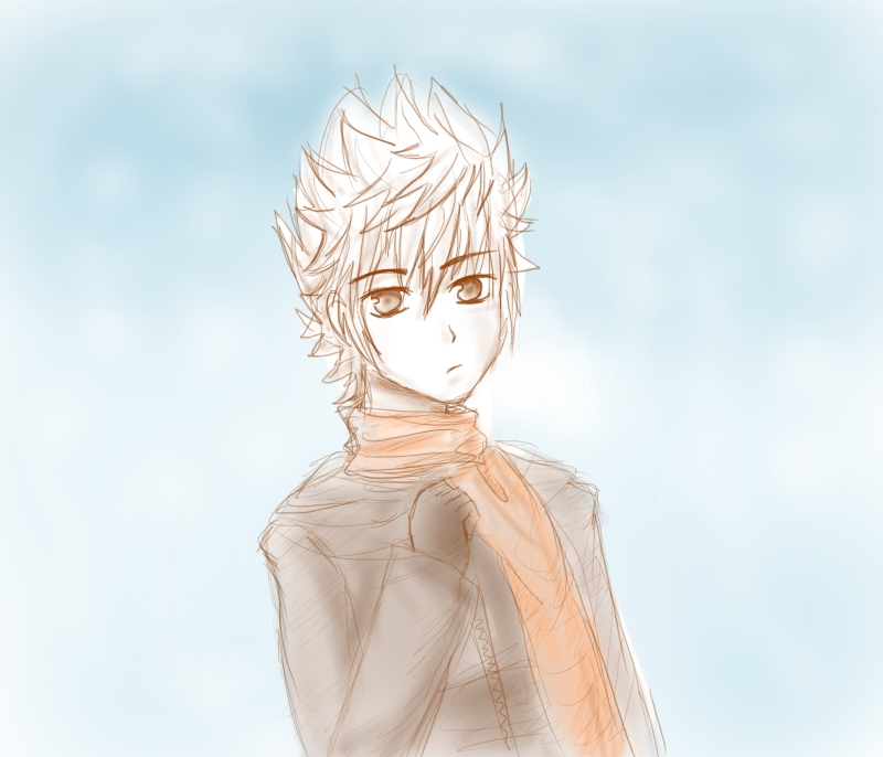 Scarf. -Sketch- by Mich1309