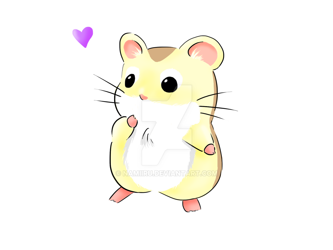 little hamster by namiiru little hamster by namiiru