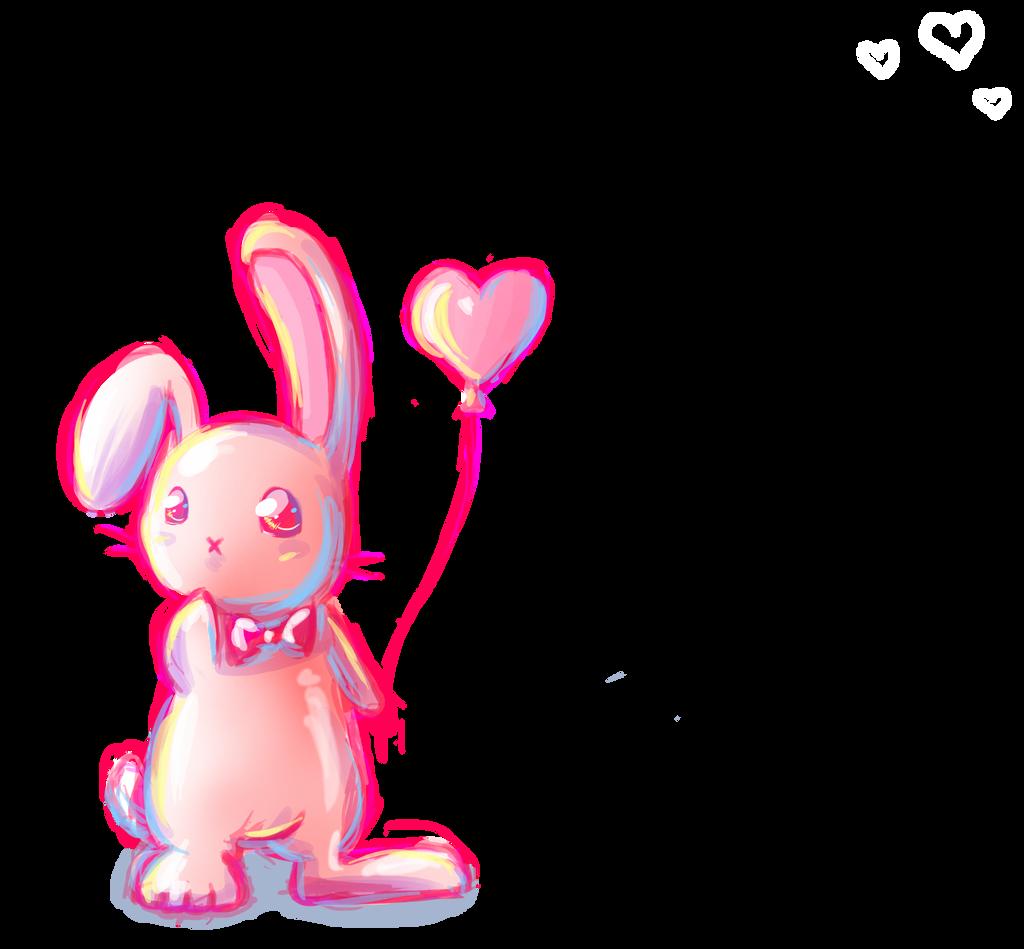 Valentine Bunny! by xXNami-sanXx