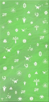 Zelda Scribbles - Custom Box Background