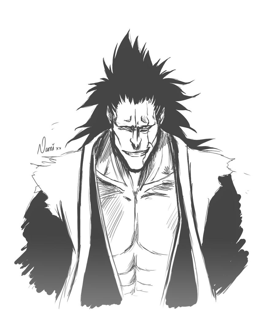 Kenpachi Sketch By Namiiru