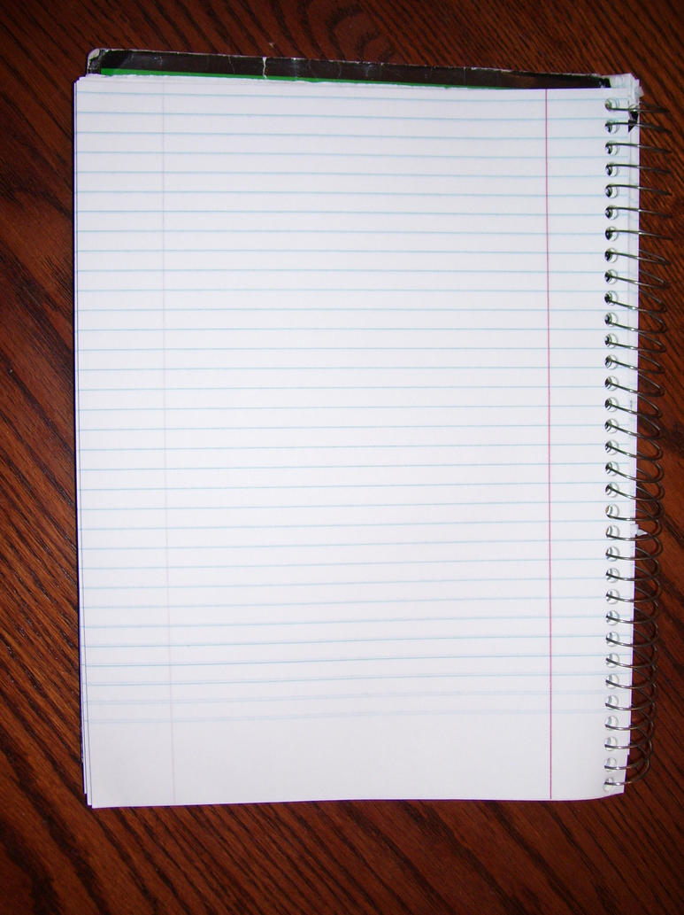 Cute Notebook Paper Notebook Paper by