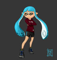 Splatoon Inkling Girl by AdaptableSimon