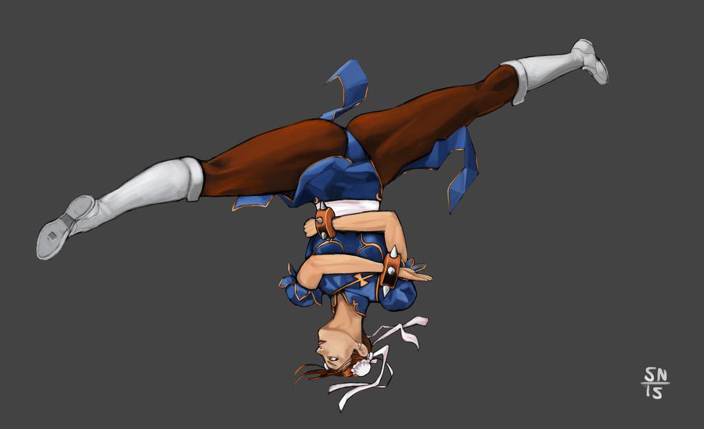 Chun Li Street Fighter by AdaptableSimon on DeviantArt
