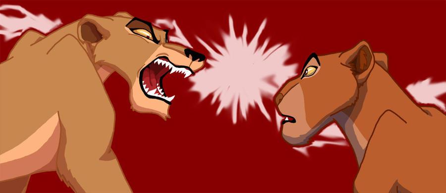 Angry Zira is angry by MareMoewe