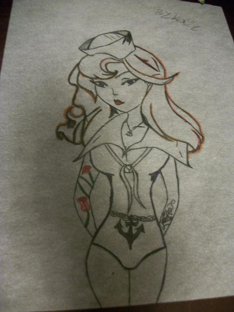 Sailor Jerry Pin Up Girl