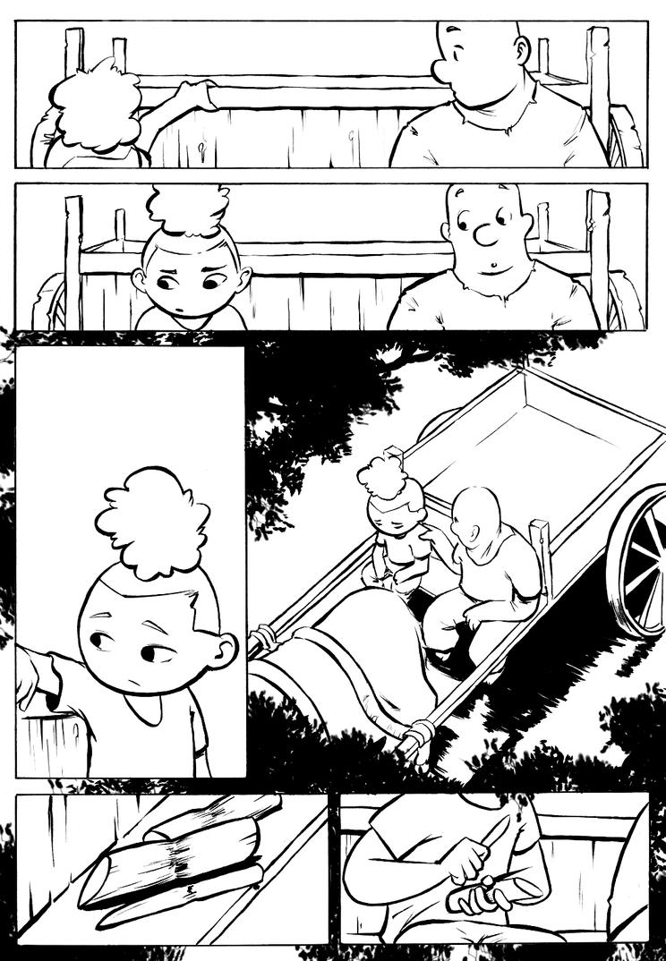 Dandara Inks 4 by ilustrajean