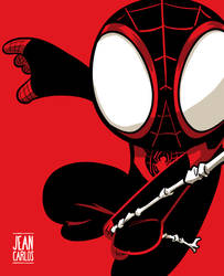 Ultimate Spider-Man Red by ilustrajean