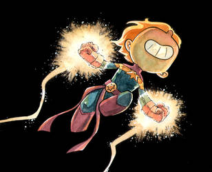 Captain Marvel by ilustrajean